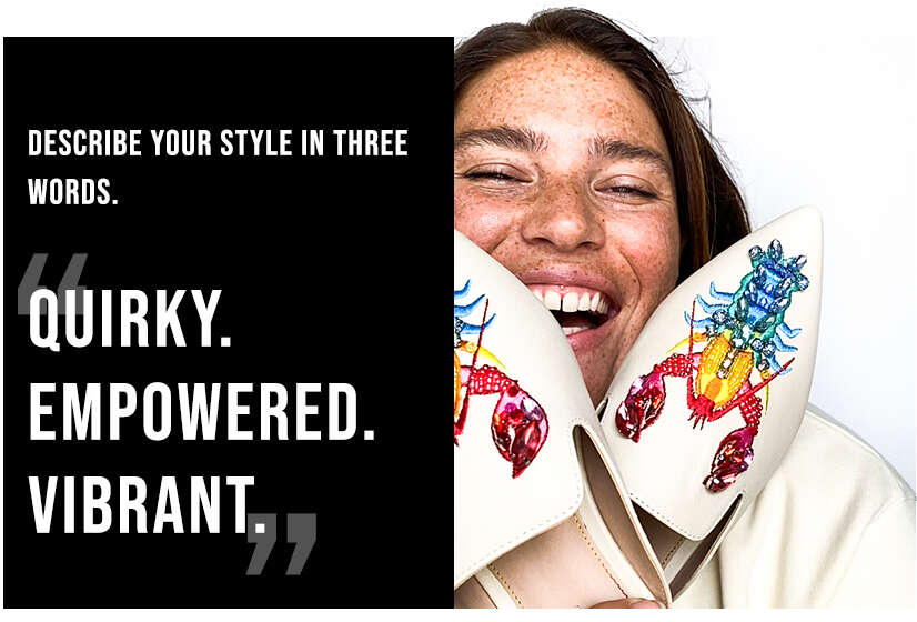 Quirky, empowered and vibrant