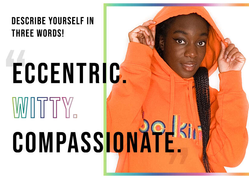 Eccentric, witty and compassionate